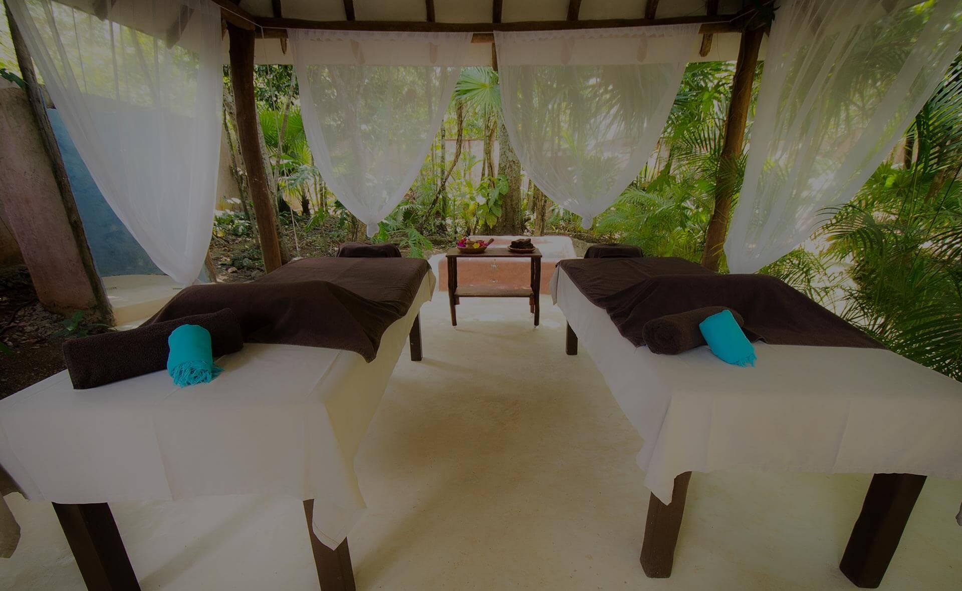Masaje relajante Puerto Morelos